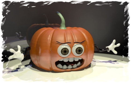 The pumpkin that scared no-one